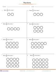 fractions worksheets understanding fractions adding fractions