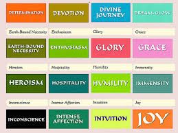 Color Symbolism by Meaning Of The Color The Spiritual Meaning Of Colors Waking Times