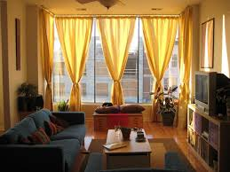 Two Different Colored Curtains Color Curtains