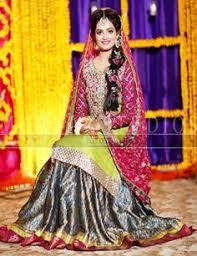 pakistani mehndi dress u2026 pinteres u2026