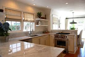 Beach Cottage Kitchen by Newport Cottages For A Beach Style Kitchen With A Marble
