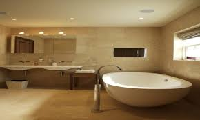 Beige Bathroom Designs by Beige Bathroom Tile Ideas White Wall Mounted Double Toilet