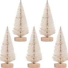 bottle brush trees tim holtz idea ology woodlands small tree