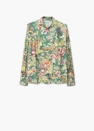 print blouse floral print blouse mango usa