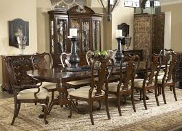 belfort signature belmont 11 piece fredericksburg dining table