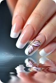 639 best nail art french polish with a twist images on pinterest