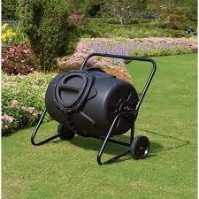 50 gallon wheeled compost tumbler bin www kotulas com free