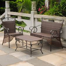Brown And Jordan Vintage Patio Furniture by Settee Group Set