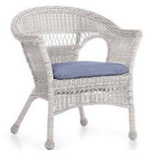 White Wicker Armchair White Wicker Chairs Outdoor Furniture