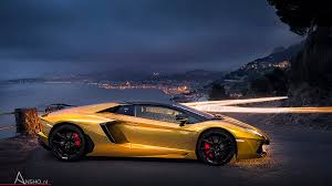 gold lamborghini aventador gold lamborghini aventador roadster by tysson automobile ansho