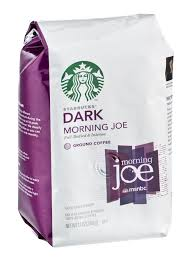 starbucks gold coast blend dark morning joe ground coffee pack of