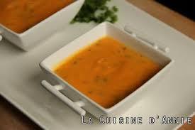 le cerfeuil en cuisine recette velouté de carottes au cerfeuil la cuisine familiale
