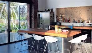 cuisine table cuisine ilot central table manger 10 cuisine en bois