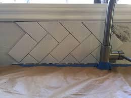 reimagined kitchen tile backsplash