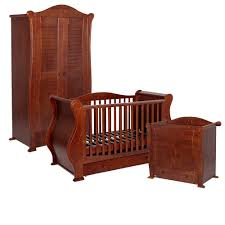 tutti bambini marie 3 piece nursery furniture set u2013 walnut baby