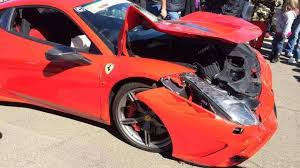 ferrari 458 speciale ferrari 458 speciale severely damaged at track day in south africa