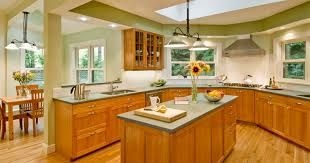 kitchen interiors green kitchen interiors for home design ideas home living