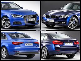 audi a4 2016 interior photo comparison 2016 bmw 3 series vs 2017 audi a4