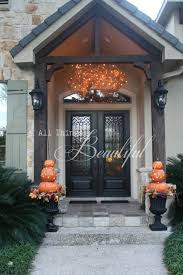 House Front Door 15 Cheap And Cute Fall Front Porch Decorating Ideas