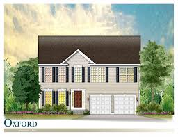 2 Car Garage Sq Ft Oxford New Single Family Home St Mary U0027s County Maryland