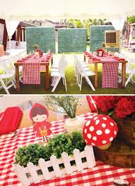 woodland little red riding hood 1st birthday hostess with the