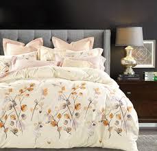 Bed Covers Set Watercolor Autumn Leaf Duvet Cover Set Eikei
