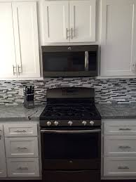 White And Black Kitchen Cabinets Best 25 Slate Appliances Ideas On Pinterest Black Stainless
