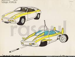 porsche cartoon drawing action figure insider u2022 view topic m a s k