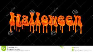 orange and black halloween background dripping orange word halloween stock illustration image 45121025