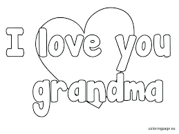 coloring pages for birthdays printables i love you grandma coloring pages i love you grandma coloring pages