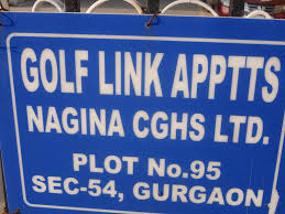 nagina international golf link apartments nagina cghs sector 54 golf course road