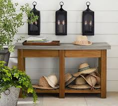 Wall Console Table Abbott Console Table Pottery Barn