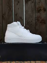 mens nike af1 ultra flyknit mid size 8 uk in newcastle tyne and