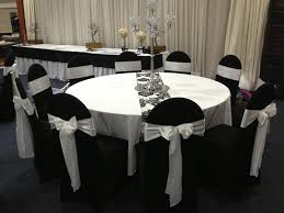 black and white chair covers chair cover hire boys formal wear flower plus size