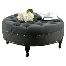 ottoman leather ottoman coffee table costco round ottoman coffee