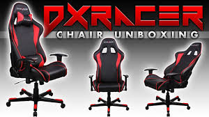 Good Desk Chair For Gaming by Dxracer Computer Gaming Chair Unboxing Youtube