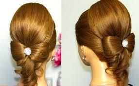 hair bow with hair hairstyle for hair hair bow wedding updo tutorial