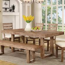 Rustic Dining Room Table And Chairs Elmwood Rustic