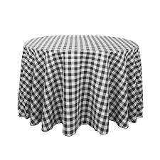 black display table cloth amazing 108 in round polyester tablecloths black white checkered for