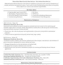 sample resume for iti electrician electrician resume templates