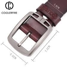 100 cowhide genuine leather belts for men cowboy luxury strap