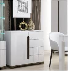 White Gloss Sideboards Lorenz High Gloss White Narrow Sideboard 1 Door 4 Drawer P9rxls