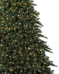 balsam hill color clear lights aspen estate fir artificial christmas tree balsam hill