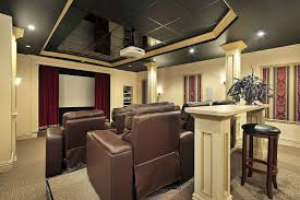 How To Decorate Home Theater Room 27 Home Theater Room Design Ideas Pictures