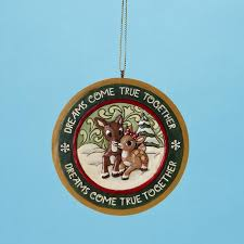 rudolph clarice disk ornament jim shore 2010 8 gif christal