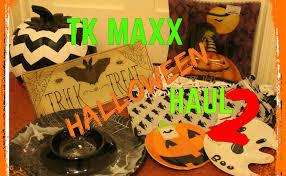 tk maxx halloween haul 2 spooky decorations and homeware youtube