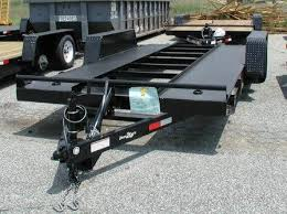 power tilt tandem axle car hauler trailers electric over hydraulic