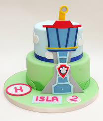 paw patrol lookout tower cake a 2d design for the lookout u2026 flickr