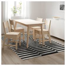 Kitchen Mat Ikea Stockholm Rug Flatwoven Handmade Striped Black Off White 170x240