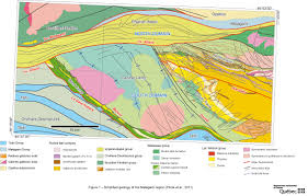 Map Of Quebec Province Mrnf U2013 Québec Mines U2013 Geological Surveys By The Bureau De L
